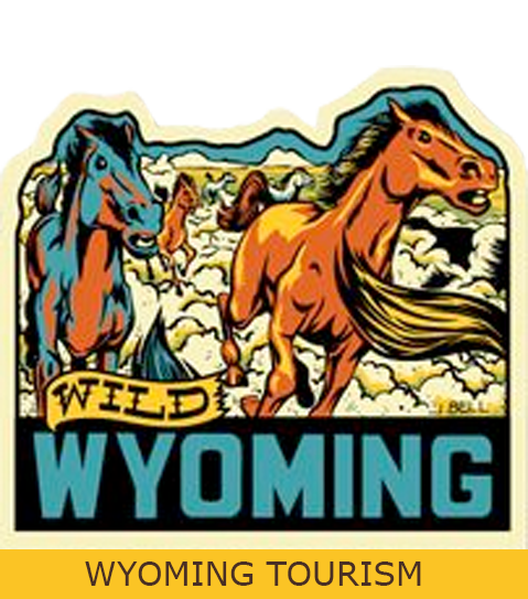Wild Wyoming Tourism Logo