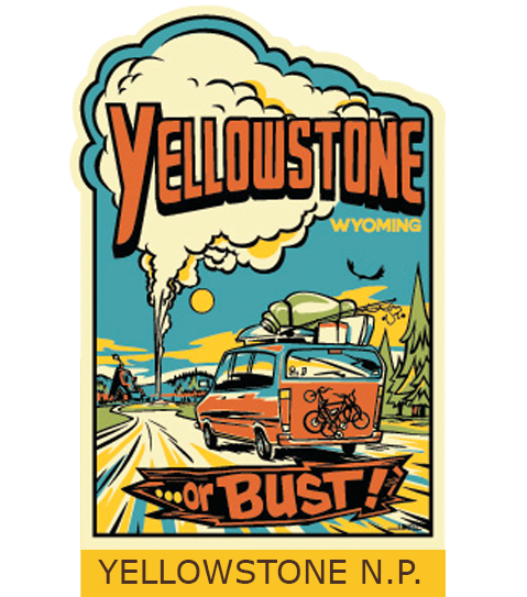 Yellowstone tourism logo