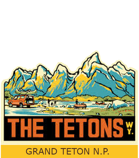 Grand teton tourism logo