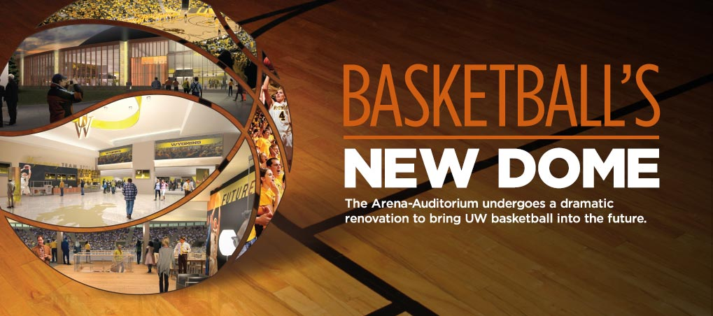 The Arena-Auditorium undergoes a dramatic renovation to bring UW basketball into the future.