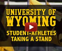 UW student athletes take a stand