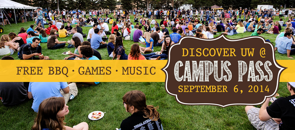 Discover UW at Campus Pass Sept. 6