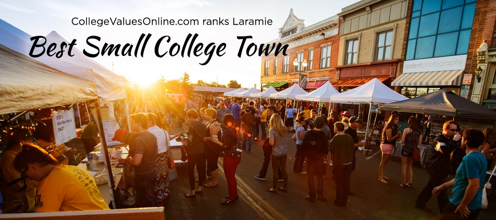 Laramie ranked Best Small College Town