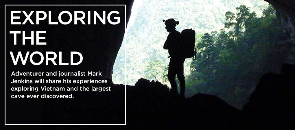 Picture of Mark Jenkins exploration of Vietnam's Hang Son Doong