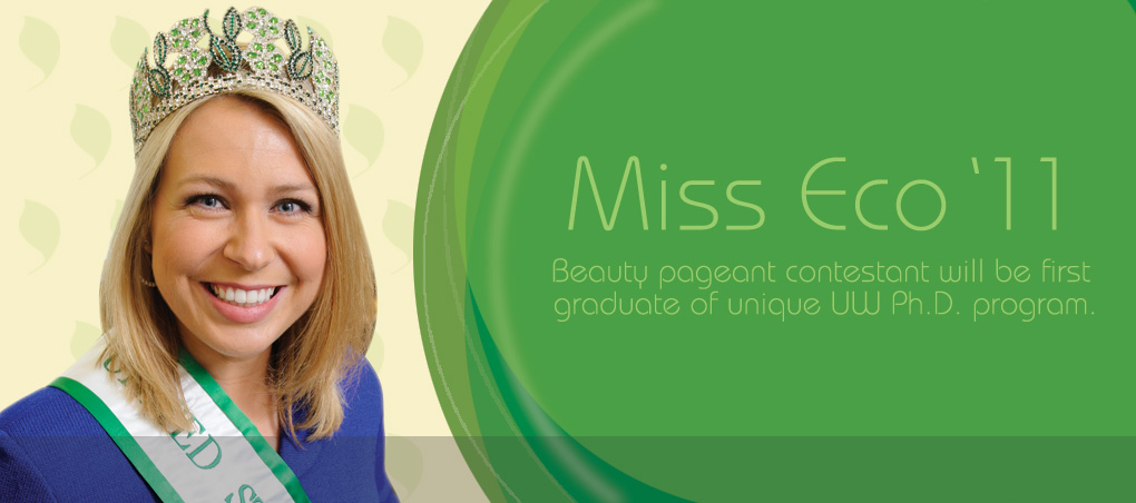 Mya Pronschinske: Miss Eco '11