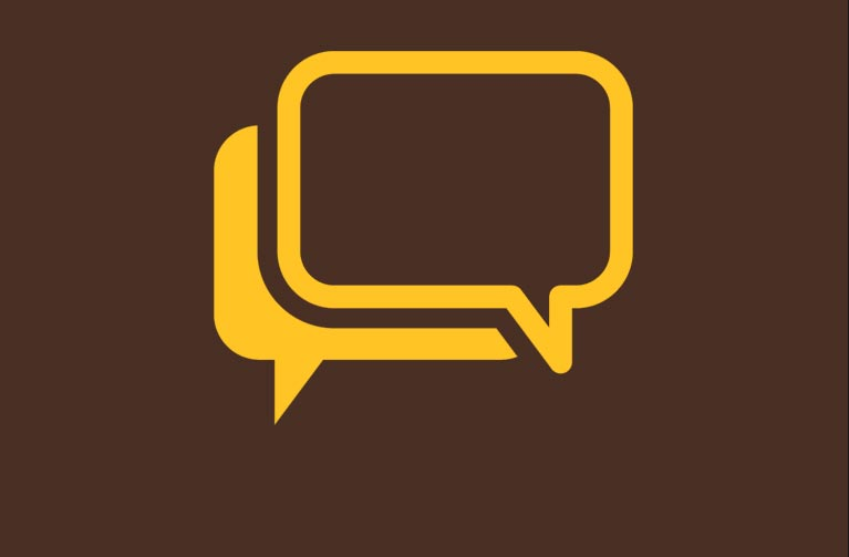 icon of conversation