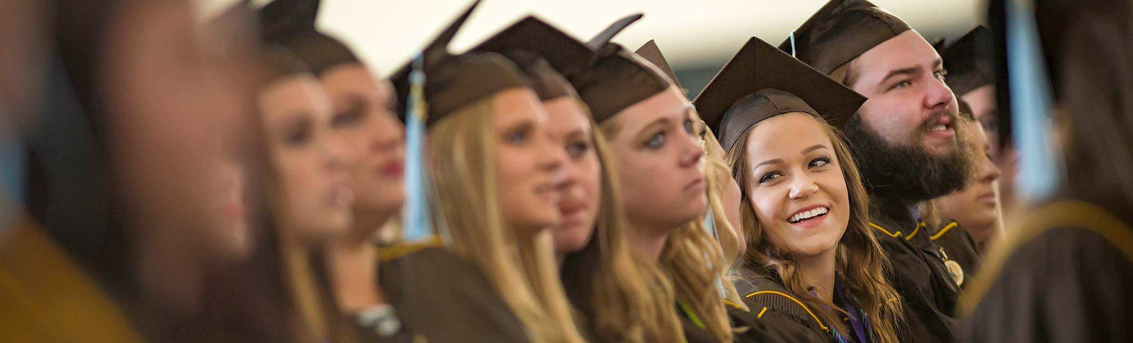 image of graduation faces