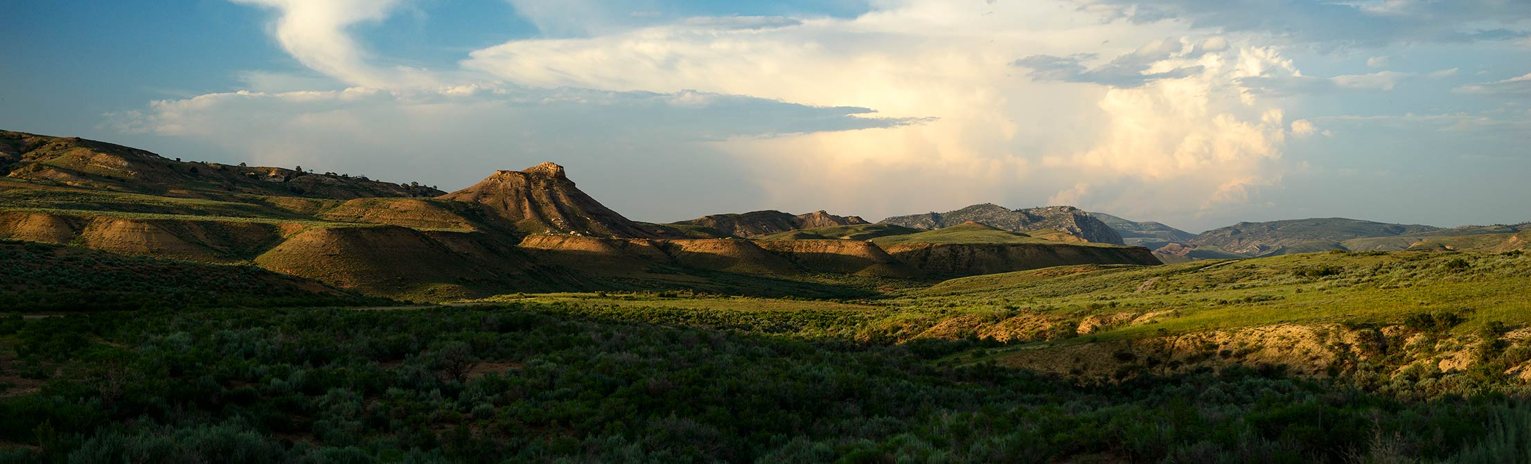 image of wyoming landscape