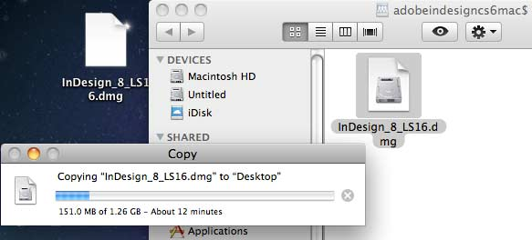 ADOBEINDESIGNCS6MAC$ window