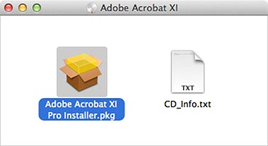 Adobe Acrobat XI window