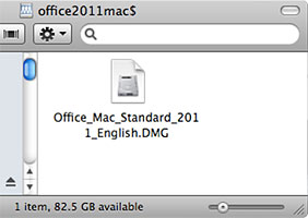 Office_Mac_Standard_2011_English.dmg file icon
