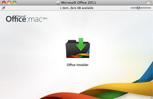 Microsoft Office Installer window