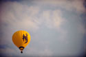 image of a hot air balloon with the steamboat logo on it