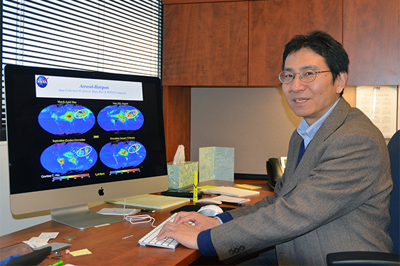 UW's Liu Named Co-Chair of NCAR Working Group