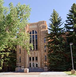 Exterior view of Engineering Building