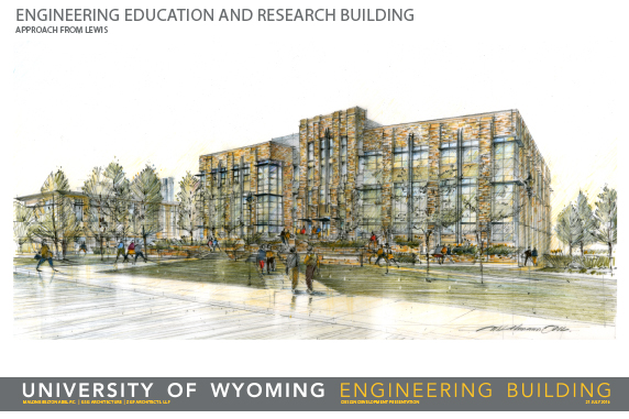 Engineering Education and Research Building rendering