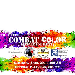 Combat Color Fun Run flyer