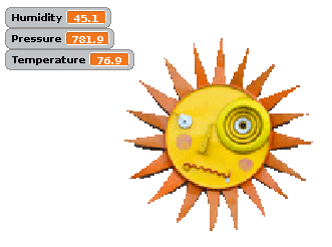 SenseHat Weather Station with Scratch