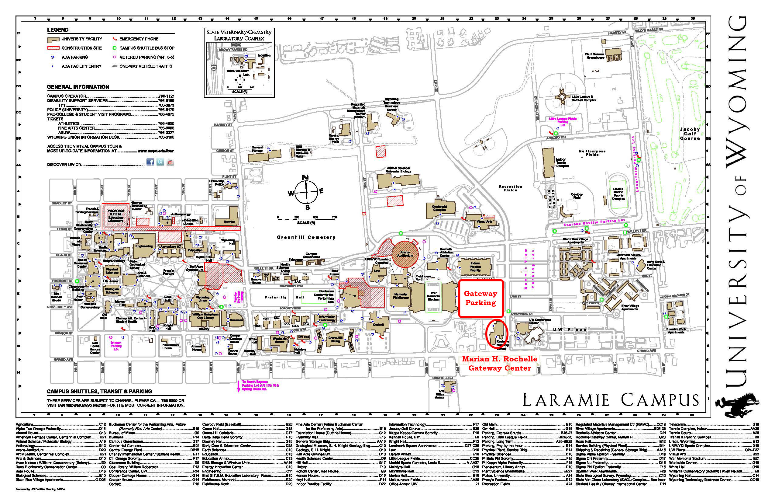 Campus Map & Parking