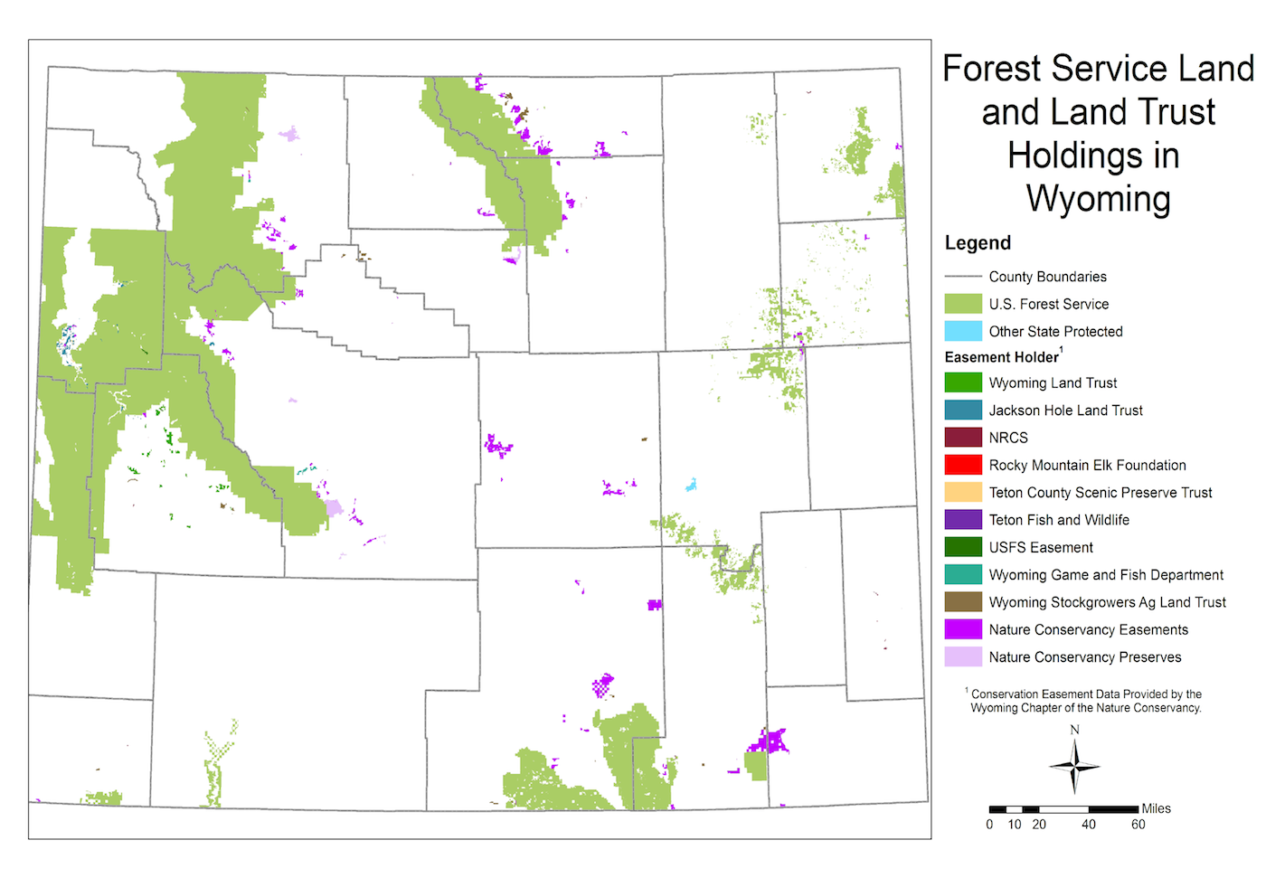 Wyoming Open Spaces Initiative Ruckelshaus Institute Haub - Wyoming us map