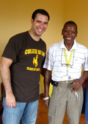 Brazilian student, Sam Barbosa, from the University of Wyoming College of Law