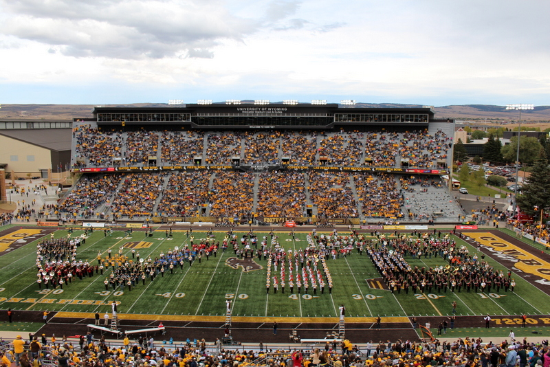 Image result for University of Wyoming vs Idaho band