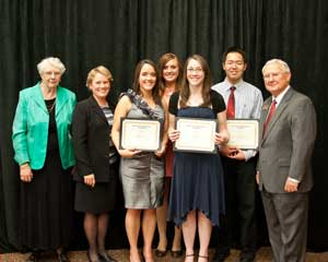 Jennifer Hendricks  Kimberly Seratt  and Han Li  for receiving theKimberly And Jennifer Hendrick