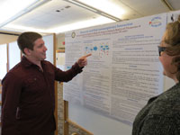 First-Year Pharm. D. Students Present Posters during CHS Research Day