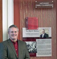 Hathaway Family Classroom Dedicated in College of Business Building