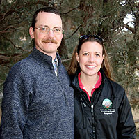 UW Couple Lands Outstanding Young Range Professional Award