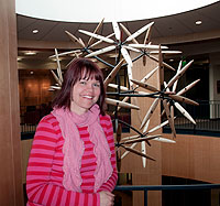 Marlatt Receives UW Libraries Outstanding Staff Award