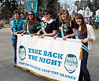 Take Back the Night Honors Survivors and Raises Awareness of Sexual Violence
