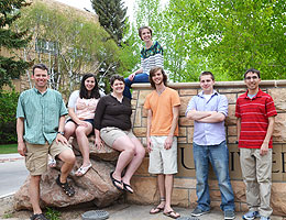 UW Hosts Astronomy Experience for Six Undergraduate Students from Across the Nation