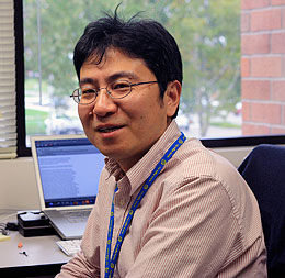 Liu named Wyoming Excellence Chair in Climate Science at UW
