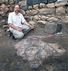 UW Professor Excavates Significant Fifth Century Mosaic in Galilee