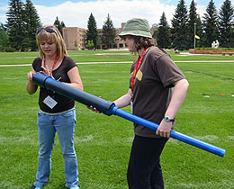 Students Explore Science Concepts at UW Energy Summer Institute