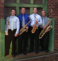 Oasis Saxophone Quartet to Perform Oct. 21
