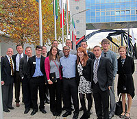 UW MBA Students Visit Germany-Based Companies