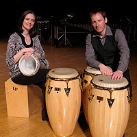 Ohio State University Percussion Duo to Perform at UW