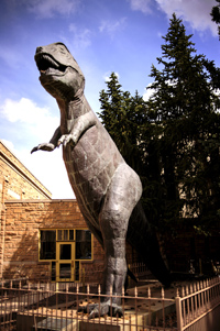 UW Museum Celebrates Dinosaur Statue Anniversary Friday and Saturday