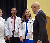 UW Medical Students Receive White Coats in Ceremony
