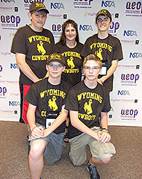 Wheatland Students Win National Competition with UW Backing