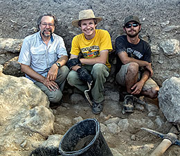 UW Students Help Discover New Mosaics in Galilee Synagogue Excavations
