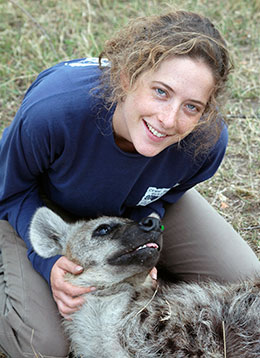UW Professor Studies Communication Patterns of Hyenas in BBC Documentary