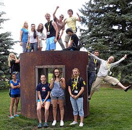 Students Participating in the UWYO Summer Programs