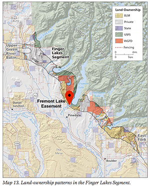 Uw science inspires mule deer conservation at fremont lake for Wyoming game and fish maps