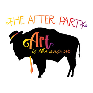 logo for after party