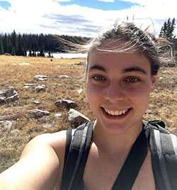 Jessica Sutter, Astrophysics Student at the University of Wyoming