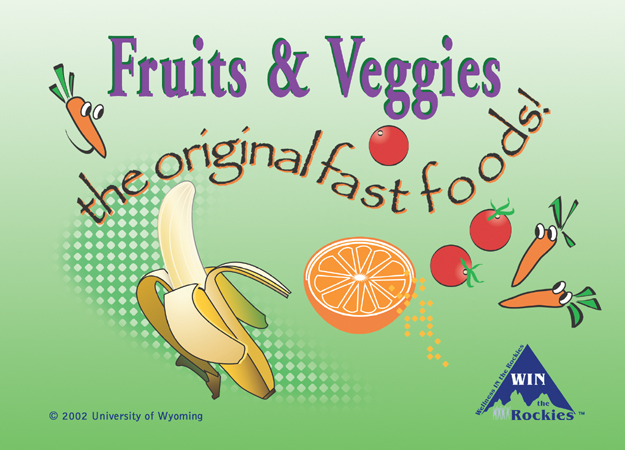 poster on healthy eating
