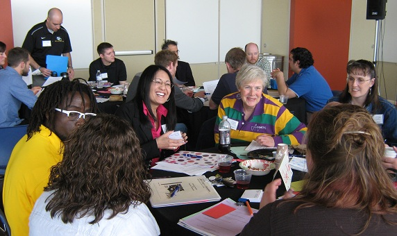 Participants at the 2013 Mathemathics Lost in Transition Institute
